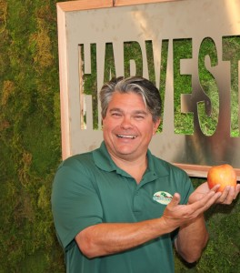 Our organic produce specialist, Kirk Temple