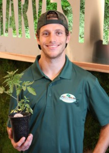 Our organic produce specialist, Trevor Anderson