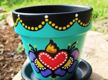 our garden design professionals offer custom potted arrangements